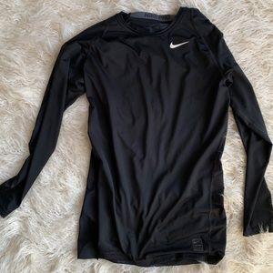 Nike Pro Compression Black Long Sleeve Men's XL